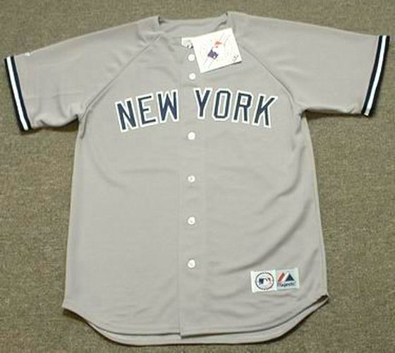 d09354efc DON MATTINGLY New York Yankees 1985 Majestic Throwback Away Baseball Jersey  - Custom Throwback Jerseys