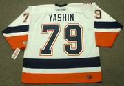 ALEXEI YASHIN New York Islanders 2005 Away CCM Throwback NHL Hockey Jersey - BACK