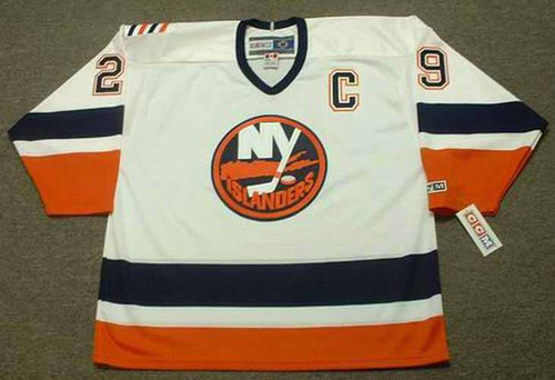 KENNY JONSSON New York Islanders 1999 Home CCM Throwback Hockey Jersey - FRONT
