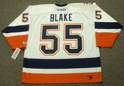 JASON BLAKE New York Islanders 2005 Away CCM Throwback NHL Hockey Jersey - BACK