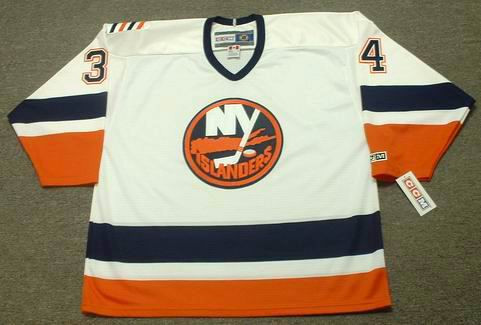 best service 10fdc 206eb WADE DUBIELEWICZ New York Islanders 2006 Away CCM Throwback NHL Jersey