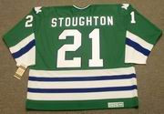 BLAINE STOUGHTON 1979 CCM Hartford Whalers Jersey - BACK