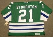 BLAINE STOUGHTON 1979 CCM Hartford Whalers Jersey - BACK
