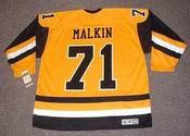 EVGENI MALKIN Pittsburgh Penguins 1980's CCM Vintage Throwback Hockey Jersey