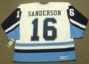 DEREK SANDERSON Pittsburgh Penguins 1977 CCM Vintage Throwback NHL Jersey