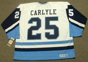 RANDY CARLYLE Pittsburgh Penguins 1978 CCM Vintage Throwback NHL Jersey