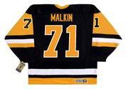 EVGENI MALKIN Pittsburgh Penguins 1990's CCM Vintage Throwback NHL Hockey Jersey