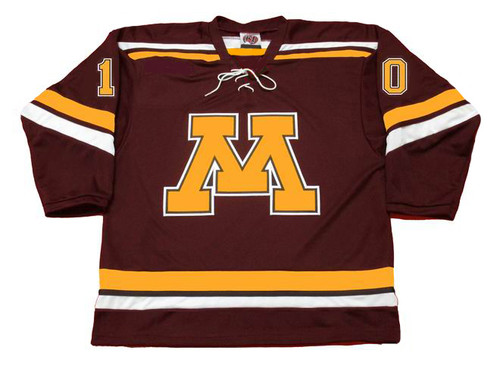 ALEX GOLIGOSKI Minnesota Gophers 2006 NCAA Throwback Hockey Jersey - FRONT