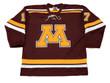 BLAKE WHEELER Minnesota Gophers 2007 NCAA Throwback Hockey Jersey - FRONT