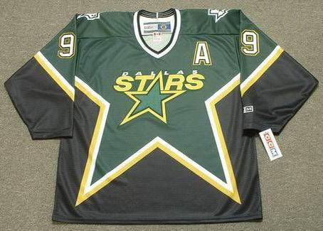 MIKE MODANO Dallas Stars 1999 Away CCM Throwback NHL Hockey Jersey - FRONT