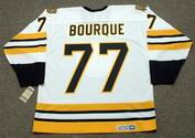 RAYMOND BOURQUE Boston Bruins 1990 CCM Throwback Home NHL Hockey Jersey