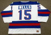 MARK WELLS 1980 USA Olympic Hockey Jersey
