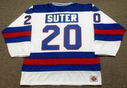 BOB SUTER 1980 USA Olympic Hockey Jersey