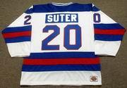 BOB SUTER 1980 USA Olympic Hockey Jersey