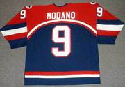 MIKE MODANO 2002 USA Nike Olympic Throwback Hockey Jersey