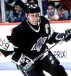 WAYNE GRETZKY Los Angeles Kings 1993 Away CCM Throwback NHL Hockey Jersey - ACTION