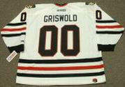 CLARK GRISWOLD Christmas Vacation Chicago Blackhawks CCM Hockey Jersey