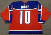 PAVEL BURE 2002 Team Russia Nike Olympic Throwback Hockey Jersey