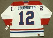 YVAN COURNOYER Montreal Canadiens 1978 CCM Throwback Home NHL Jersey - BACK