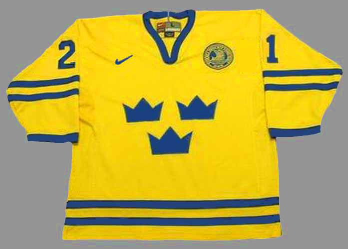 0b769b87c ... Sweden Jerseys; PETER FORSBERG Team Sweden Nike Olympic Throwback Hockey  Jersey. Image 1. Image 2. Image 3. Image 4. Image 5. See 4 more pictures