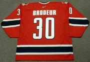 MARTIN BRODEUR 2002 Team Canada Nike Olympic Throwback Hockey Jersey