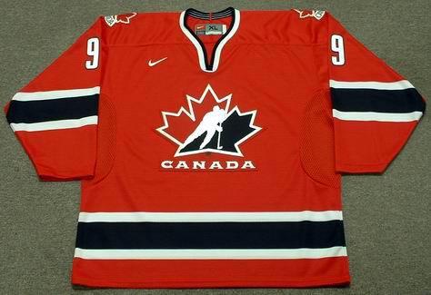 Paul Kariya 2002 Team Canada Olympic Nike Throwback Hockey Jersey - FRONT