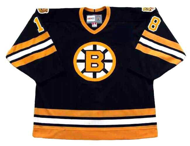 ... Vintage NHL Jerseys · Boston Bruins Jerseys  HAPPY GILMORE Boston  Bruins CCM Vintage Black Hockey Jersey. Image 1. Image 2. Image 3. Image 4.  See 3 more ... 76d4904ac