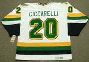 DINO CICCARELLI Minnesota North Stars 1988 Home CCM NHL Vintage Throwback Jersey