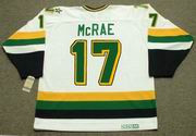 BASIL McRAE Minnesota North Stars Jersey 1989 Home CCM Vintage Throwback NHL - BACK