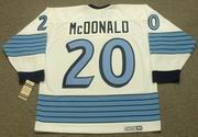 1967 Pittsburgh Penguins Away CCM Throwback AB McDONALD Vintage NHL jersey - BACK
