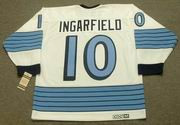 EARL INGARFIELD Pittsburgh Penguins 1967 CCM Vintage Away NHL Hockey Jersey