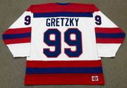 WAYNE GRETZKY Indianapolis Racers K1 1978 WHA Hockey Throwback Jersey - BACK
