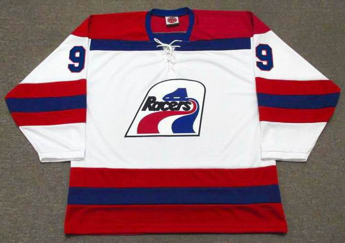 WAYNE GRETZKY Indianapolis Racers K1 1978 WHA Hockey Throwback Jersey -  BACK. See 4 more pictures d5f4fcf88ab