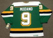 MIKE MODANO Minnesota North Stars 1991 Away CCM NHL Vintage Throwback Jersey