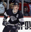 LUC ROBITAILLE Los Angeles Kings 1993 Away CCM Throwback NHL Hockey Jersey - ACTION