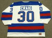 JIM CRAIG 1980 USA Olympic Hockey Jersey