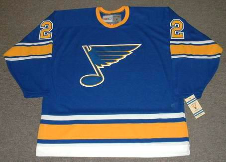 purchase cheap 90680 b081a STEVE DURBANO St. Louis Blues 1972 CCM Vintage Throwback NHL Hockey Jersey