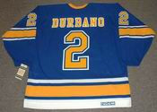STEVE DURBANO St. Louis Blues 1972 CCM Vintage Throwback NHL Hockey Jersey