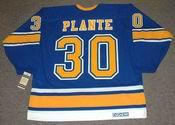 JACQUES PLANTE St. Louis Blues 1968 CCM Vintage Throwback NHL Hockey Jersey