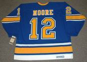 DICKIE MOORE St. Louis Blues 1967 CCM Vintage Throwback NHL Hockey Jersey