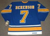 RED BERENSON St. Louis Blues 1968 CCM Vintage Throwback NHL Hockey Jersey