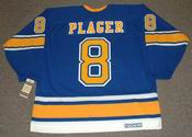 BARCLAY PLAGER St. Louis Blues 1971 CCM Vintage Throwback NHL Hockey Jersey