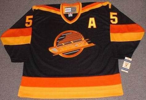 GARTH BUTCHER Vancouver Canucks 1987 CCM Vintage Throwback NHL Hockey Jersey  - Custom Throwback Jerseys 797f07004