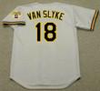 ANDY VAN SLYKE Pittsburgh Pirates 1992 Majestic Throwback Away Baseball Jersey - BACK