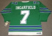 EARL INGARFIELD Oakland Seals 1968 CCM Vintage Throwback Home NHL Jersey