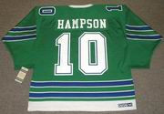 TED HAMPSON Oakland Seals 1968 CCM Vintage Throwback Home NHL Jersey