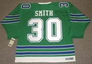 GARY SMITH Oakland Seals 1967 CCM Vintage Throwback Home NHL Jersey - BACK