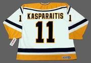 DARIUS KASPARAITIS Pittsburgh Penguins 1998 CCM Throwback Home NHL Jersey