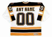 BOSTON BRUINS 2002 Home CCM Vintage Custom Hockey Jerseys - BACK