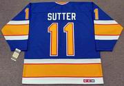 BRIAN SUTTER St. Louis Blues 1987 CCM Vintage Throwback NHL Hockey Jersey